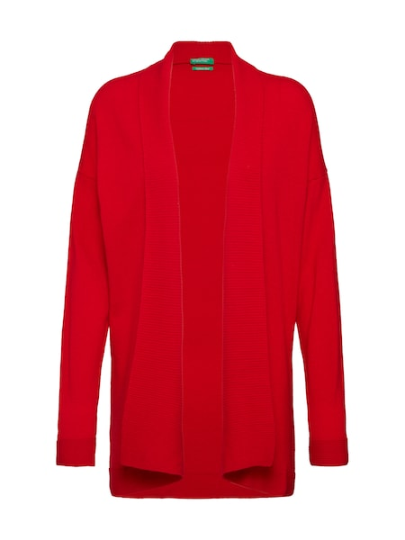 Jacken - Strickjacke › United Colors of Benetton › rot  - Onlineshop ABOUT YOU