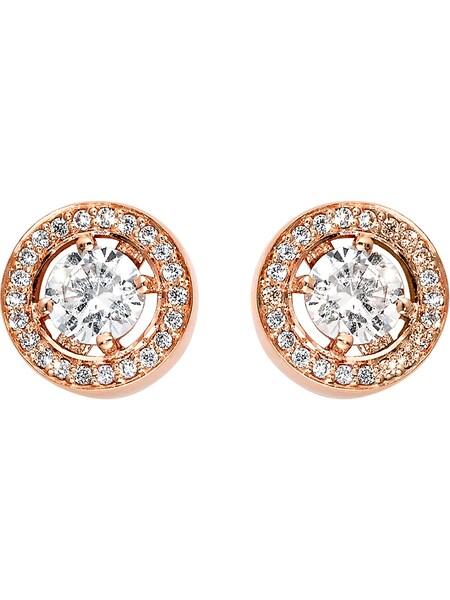 Ohrringe für Frauen - C Collection Ohrstecker rosegold  - Onlineshop ABOUT YOU