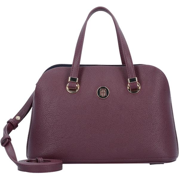 Handtaschen für Frauen - TOMMY HILFIGER Handtasche 'Core' weinrot  - Onlineshop ABOUT YOU