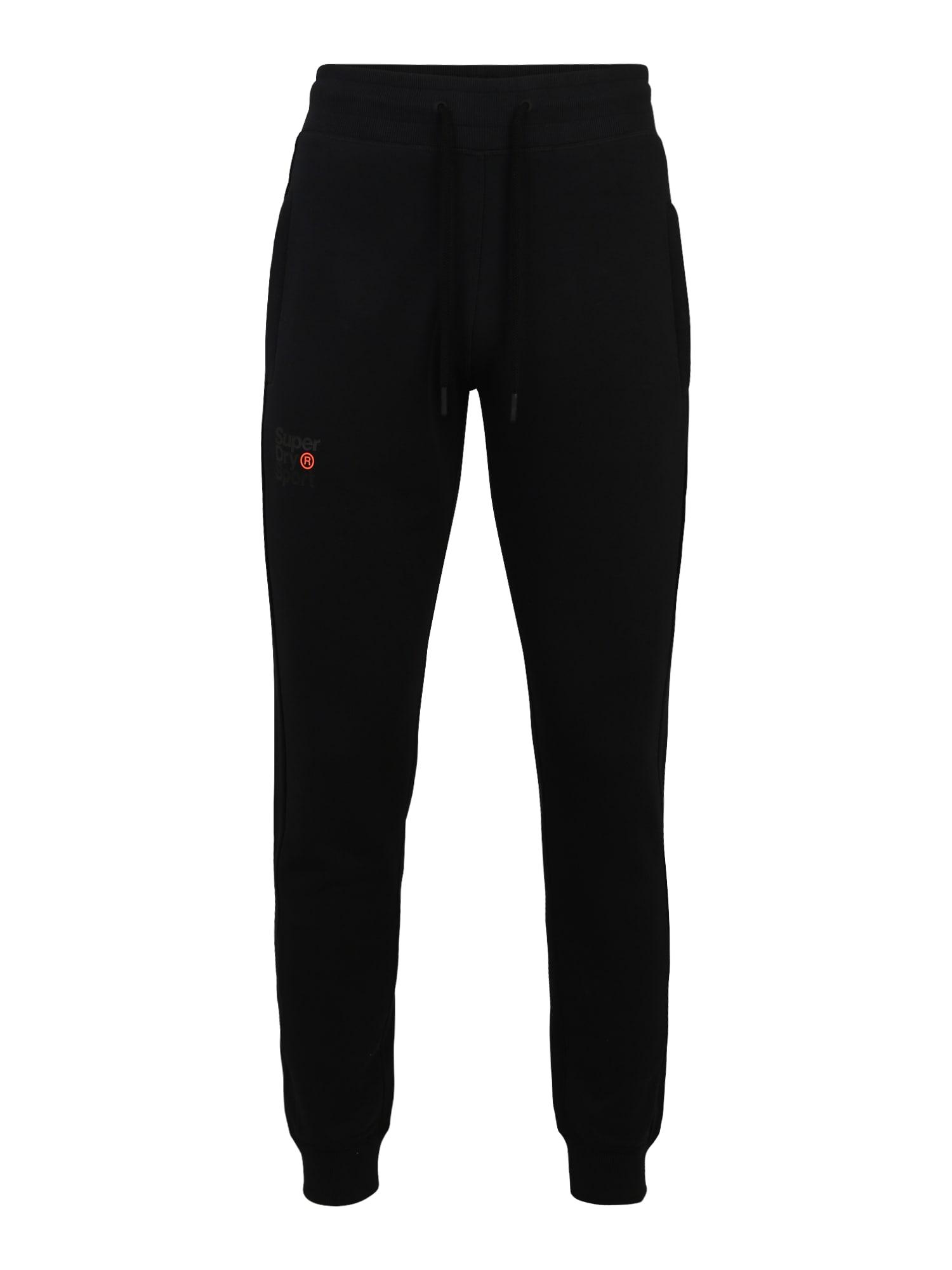 Superdry Sportinės kelnės juoda