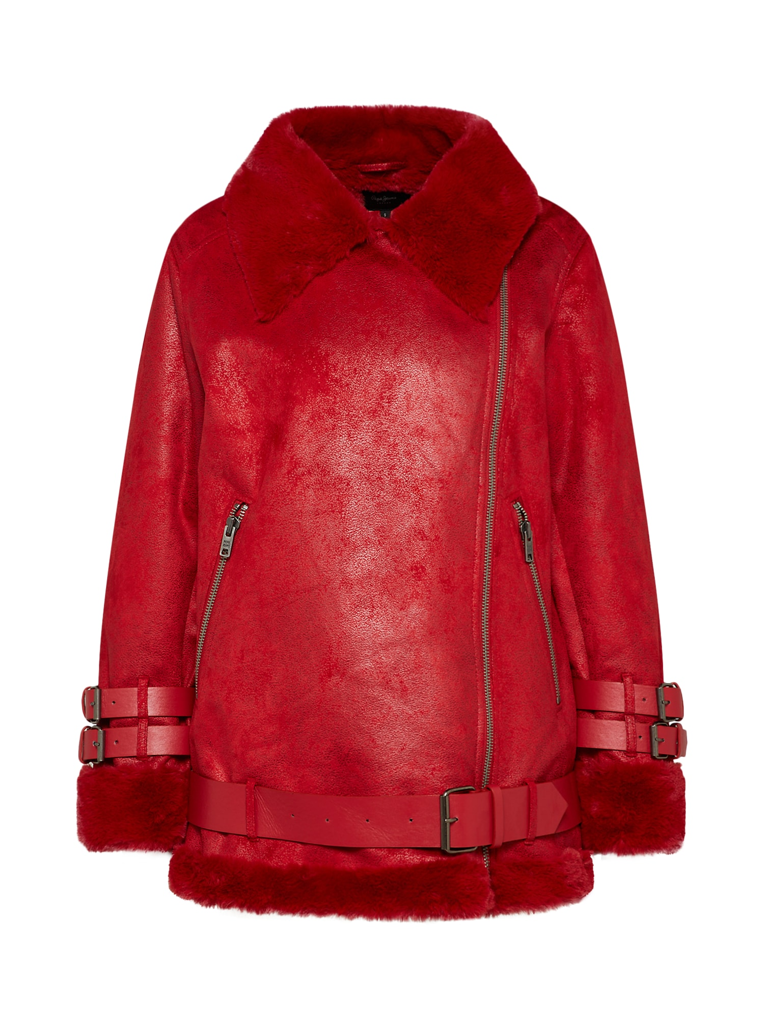 Přechodná bunda GEORGIA červená Pepe Jeans