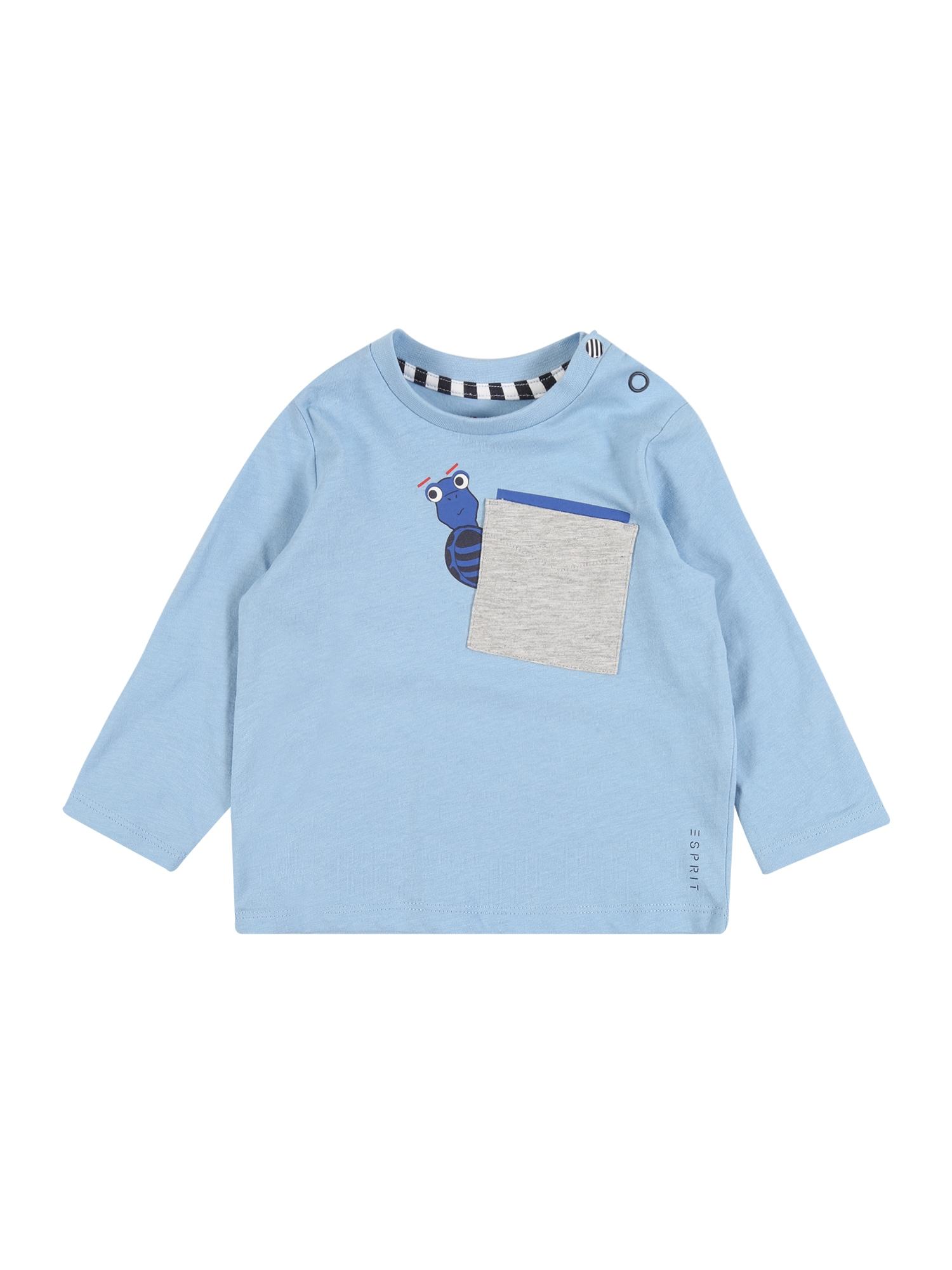 ESPRIT Megztinis be užsegimo šviesiai mėlyna