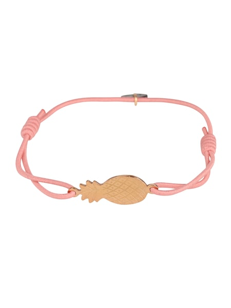 Armbaender für Frauen - Lua Accessories Armband 'Pineapple' rosa  - Onlineshop ABOUT YOU