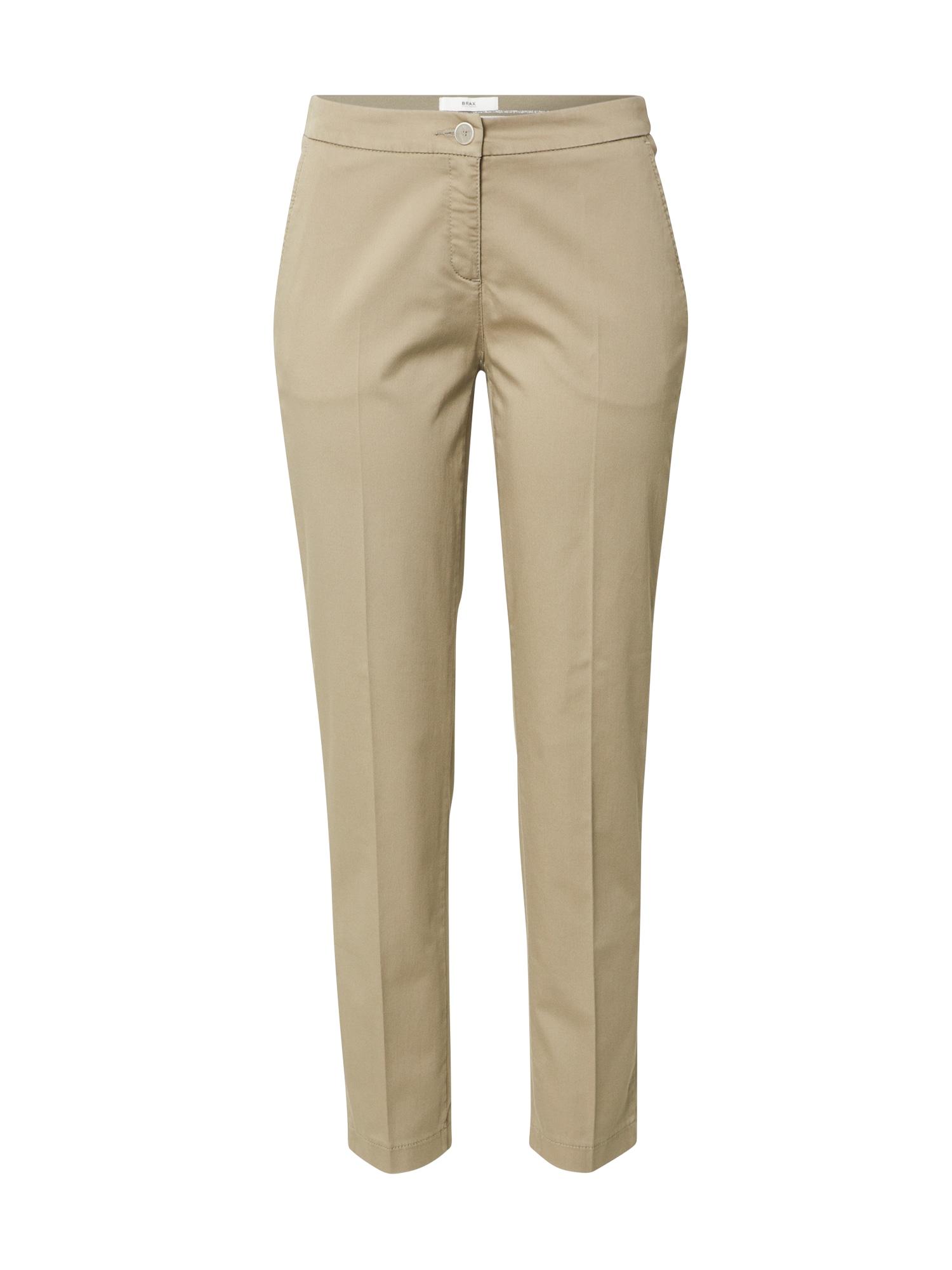 BRAX Chino stiliaus kelnės 'MARON' žalia