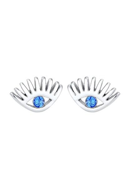 Ohrringe für Frauen - Ohrringe 'Evil Eye' › ELLI › blau silber  - Onlineshop ABOUT YOU