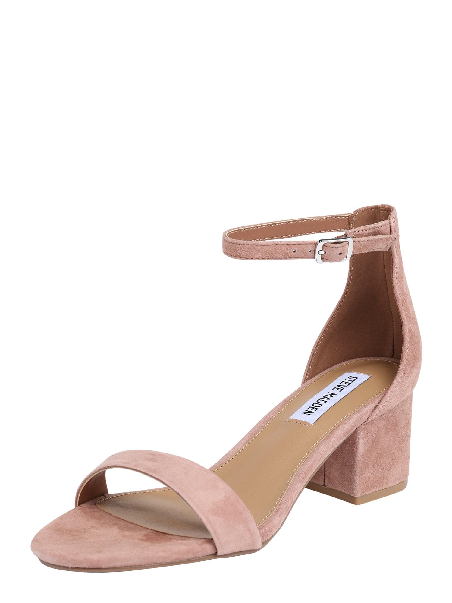 Páskové sandály Irenee béžová STEVE MADDEN