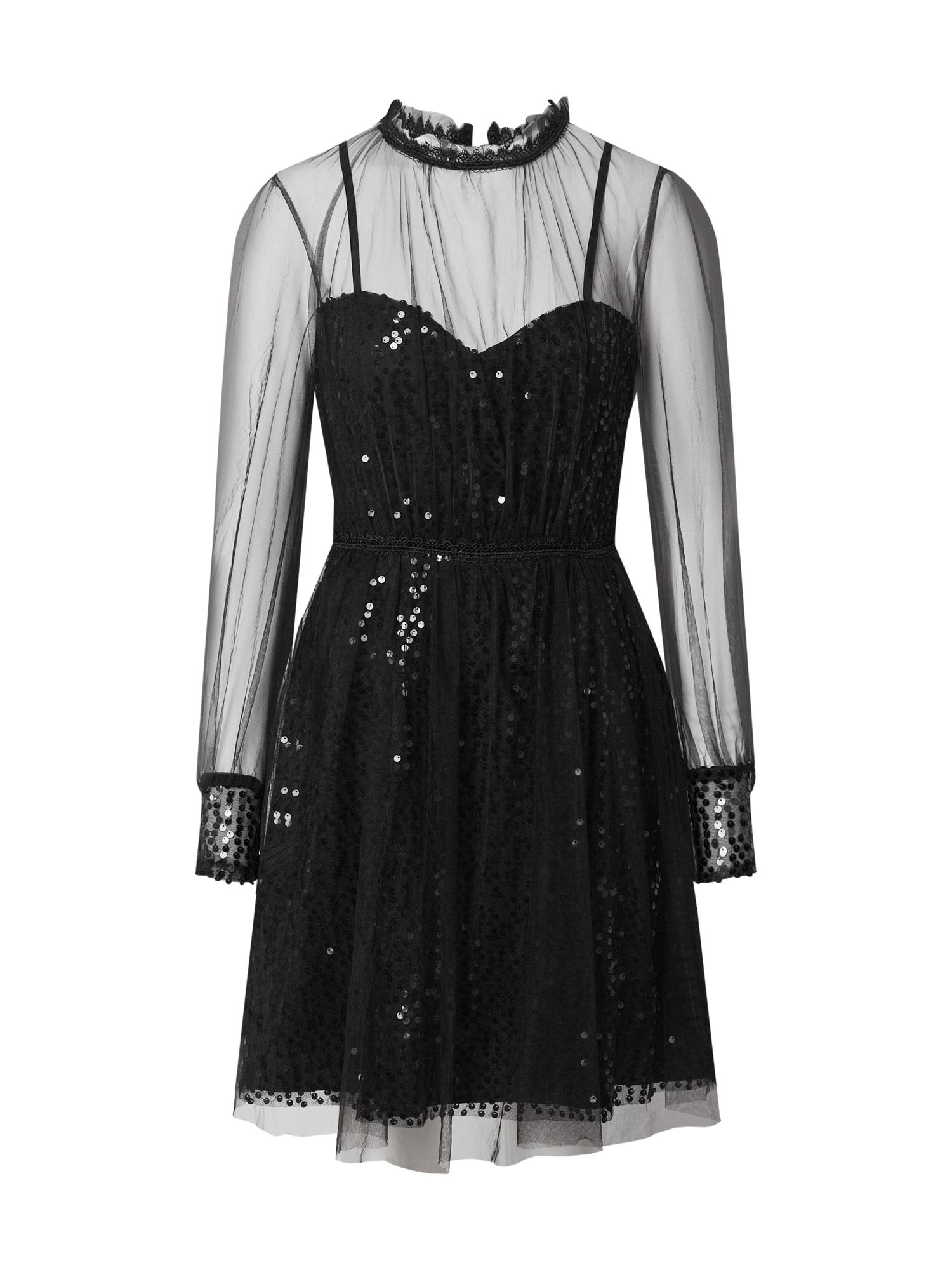 Forever Unique Kokteilinė suknelė juoda