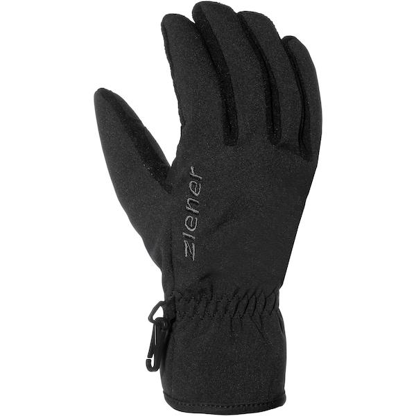 Handschuhe für Frauen - ZIENER 'Import' Fingerhandschuhe schwarz  - Onlineshop ABOUT YOU