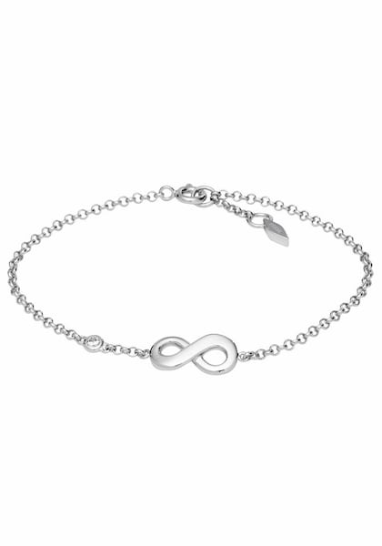 Armbaender für Frauen - FOSSIL Armband 'Infinity Unendlichkeit, INFINITIVE LOVE, JFS00393040' silber  - Onlineshop ABOUT YOU