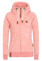 Naketano Damen Zipped Jacket Gigi Meroni pink | 04060606042558