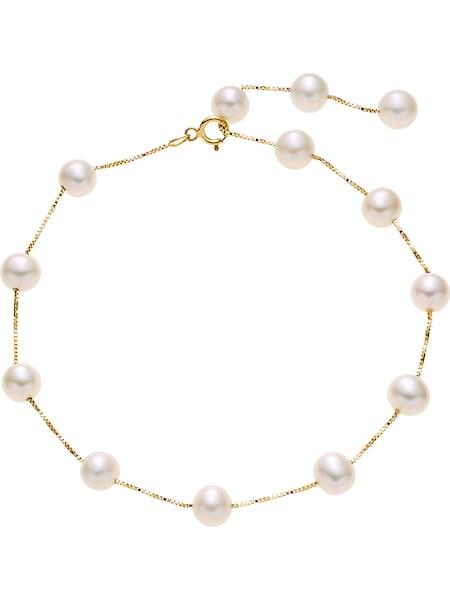 Armbaender für Frauen - CHRIST Armband gold perlweiß  - Onlineshop ABOUT YOU