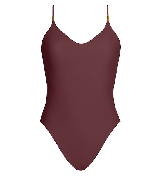 Bademode - Swimsuit 'Core Solids' › Calvin Klein › weinrot  - Onlineshop ABOUT YOU