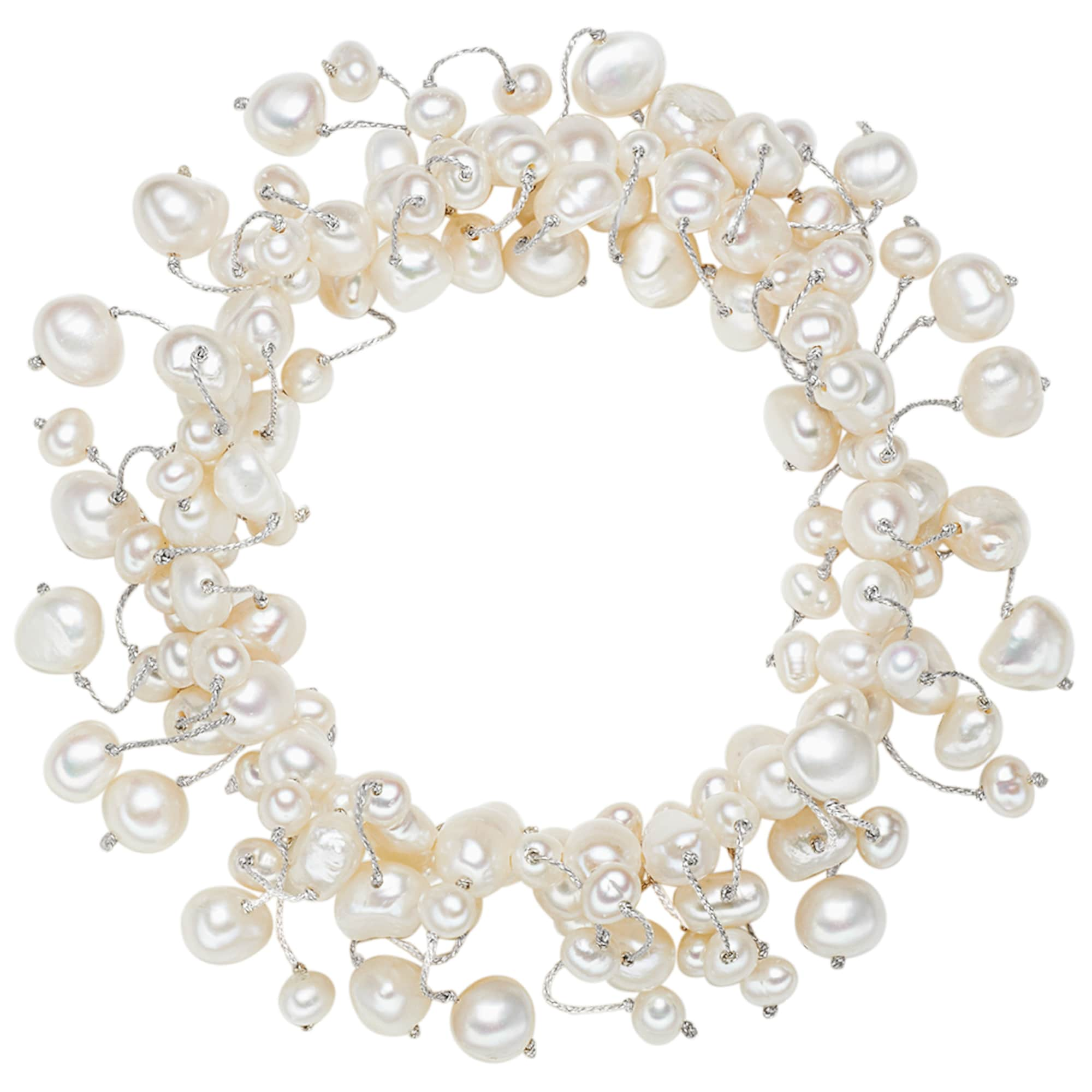 Armband mit Süßwasser-Zuchtperlen   Schmuck > Armbänder > Perlenarmbänder   Valero Pearls
