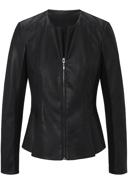 Jacken - Jacke im coolen Biker Stil › MYBC › schwarz  - Onlineshop ABOUT YOU
