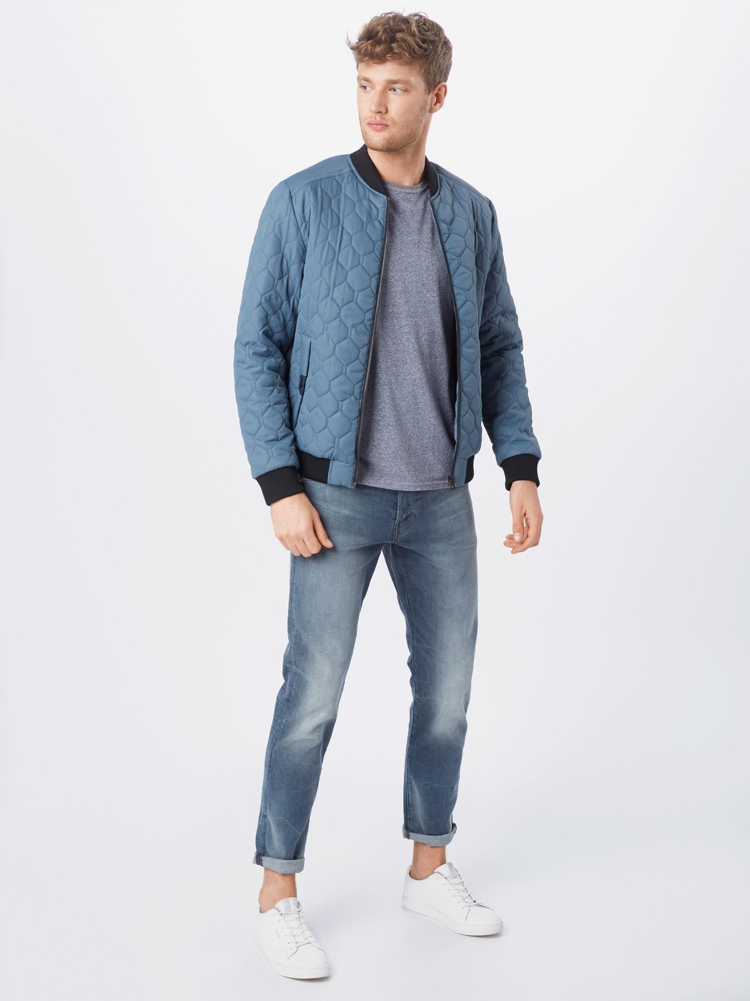G-Star RAW Džínsy '3301 Slim'  modrá denim.