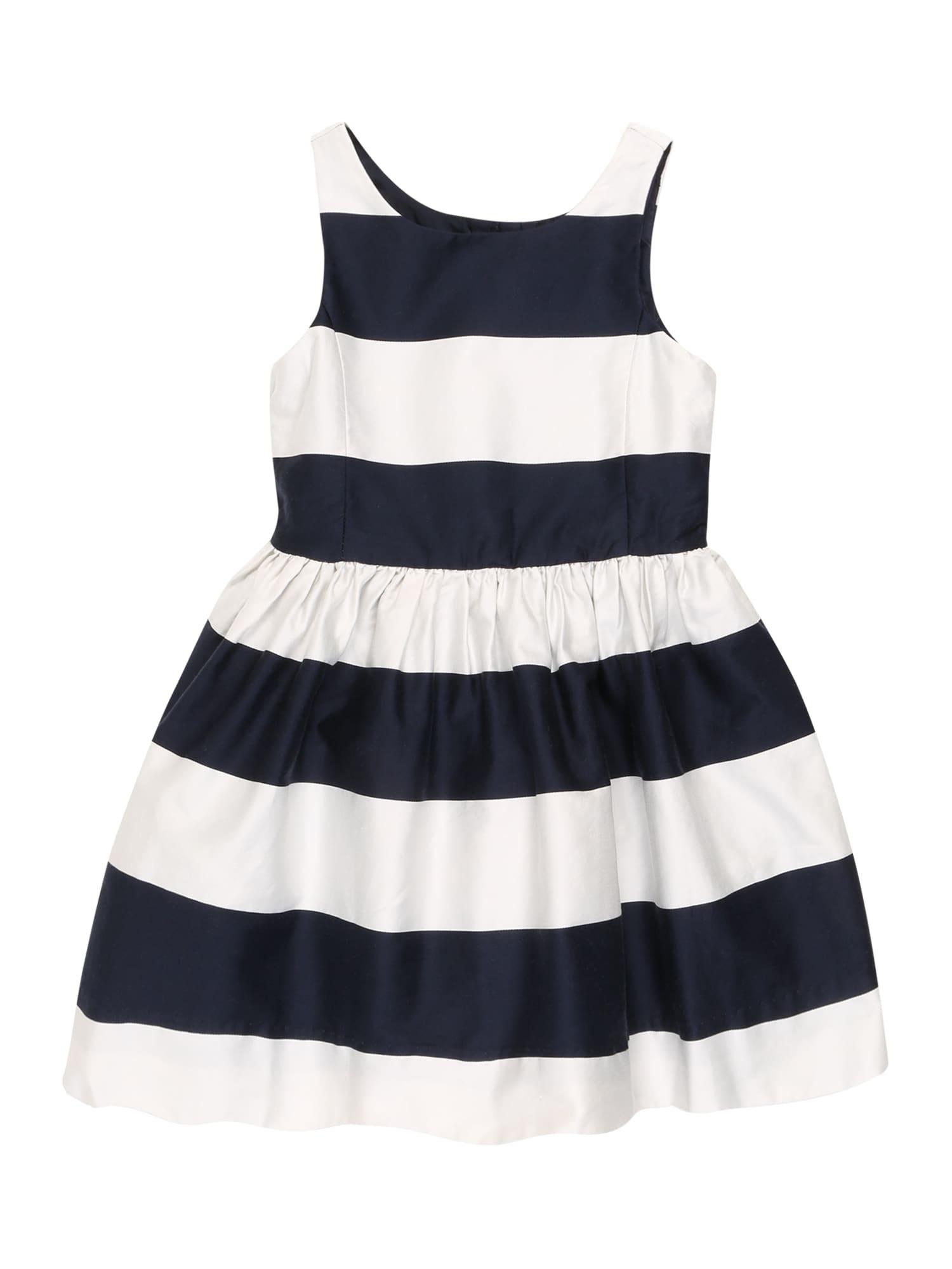 POLO RALPH LAUREN Šaty  námornícka modrá / biela