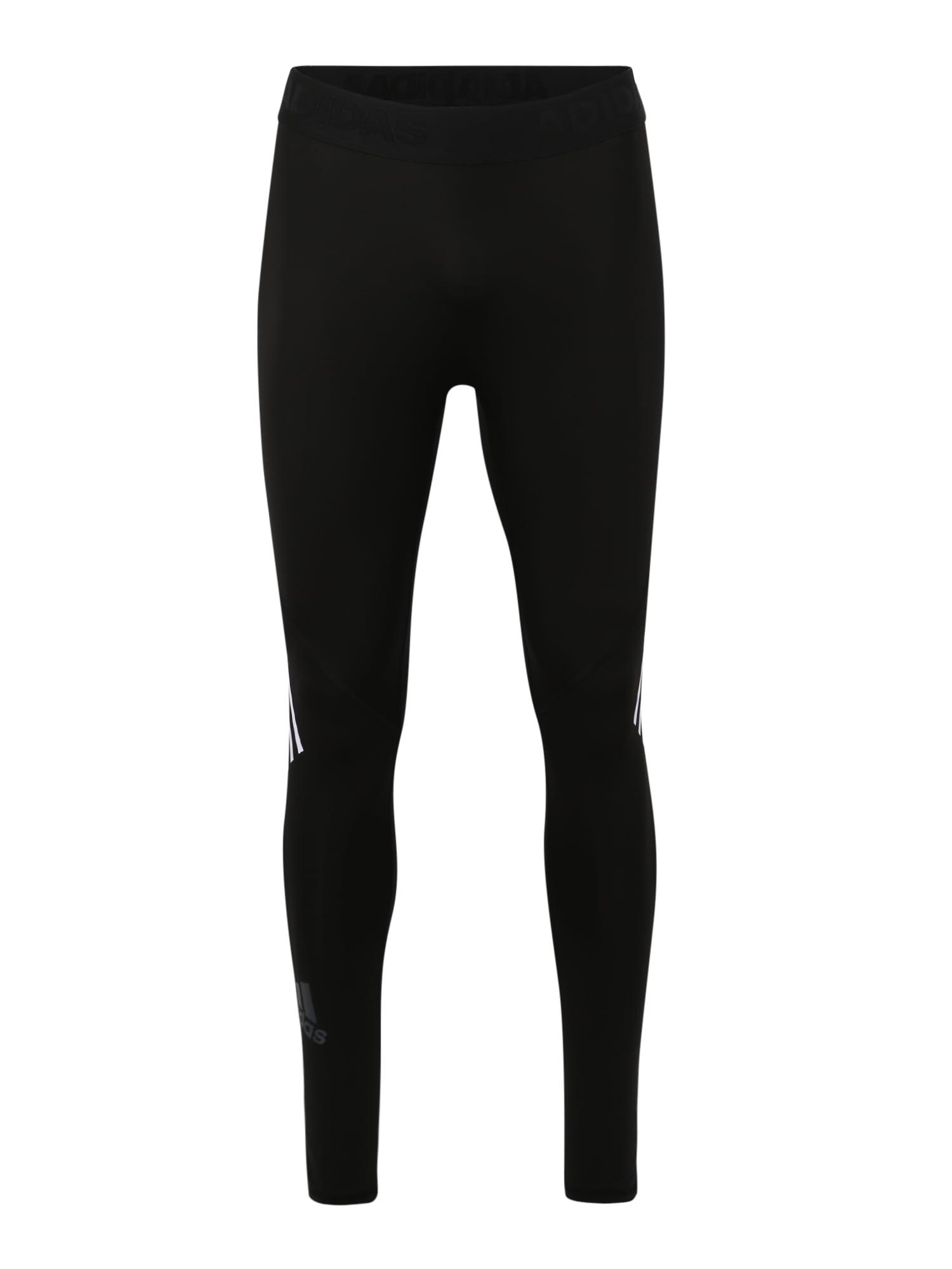 ADIDAS PERFORMANCE Sportinės kelnės 'ASK SPR LT 3S' juoda / balta