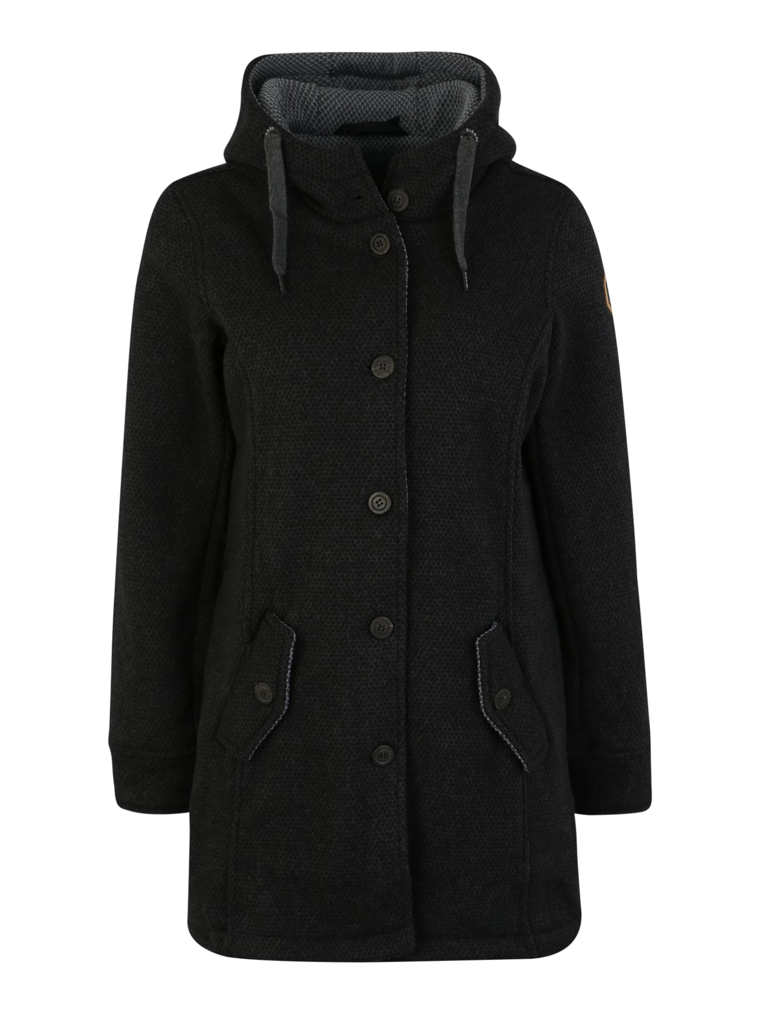 Outdoorový kabát Camidara antracitová G.I.G.A. DX
