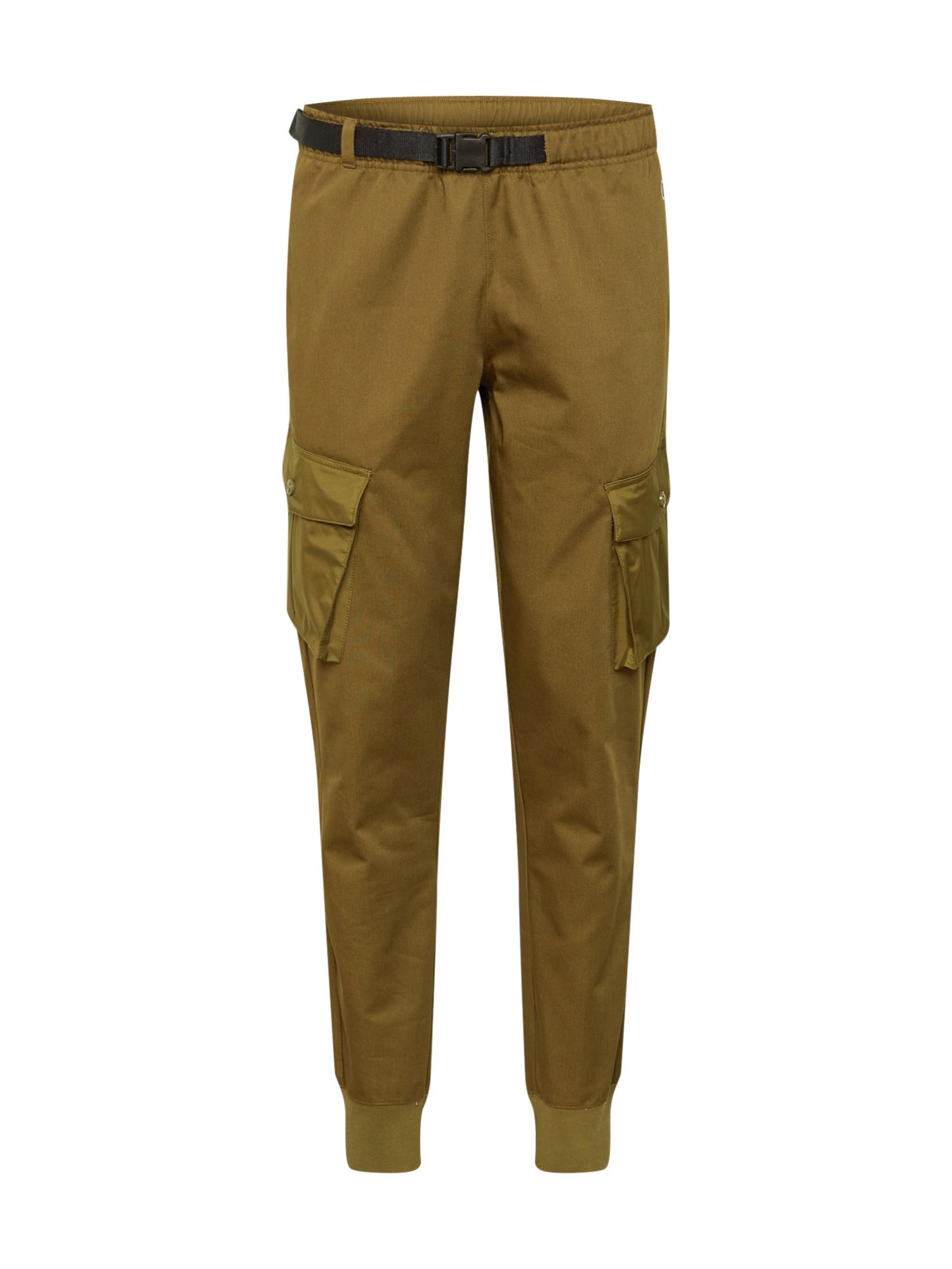 Champion Authentic Athletic Apparel Laisvo stiliaus kelnės alyvuogių spalva