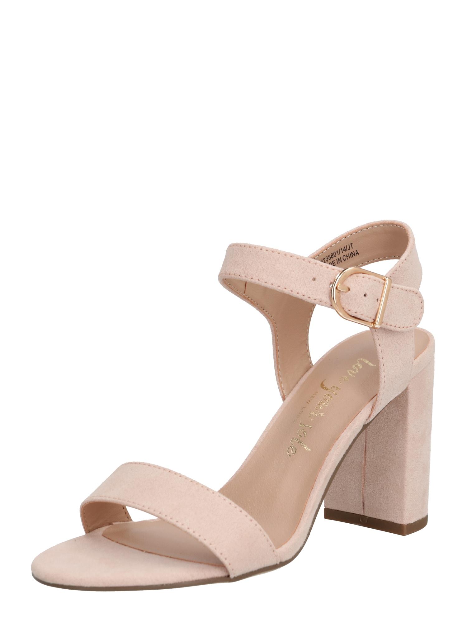 NEW LOOK Remienkové sandále 'VIMS 4 - SDT 2PT BLOCK'  béžová
