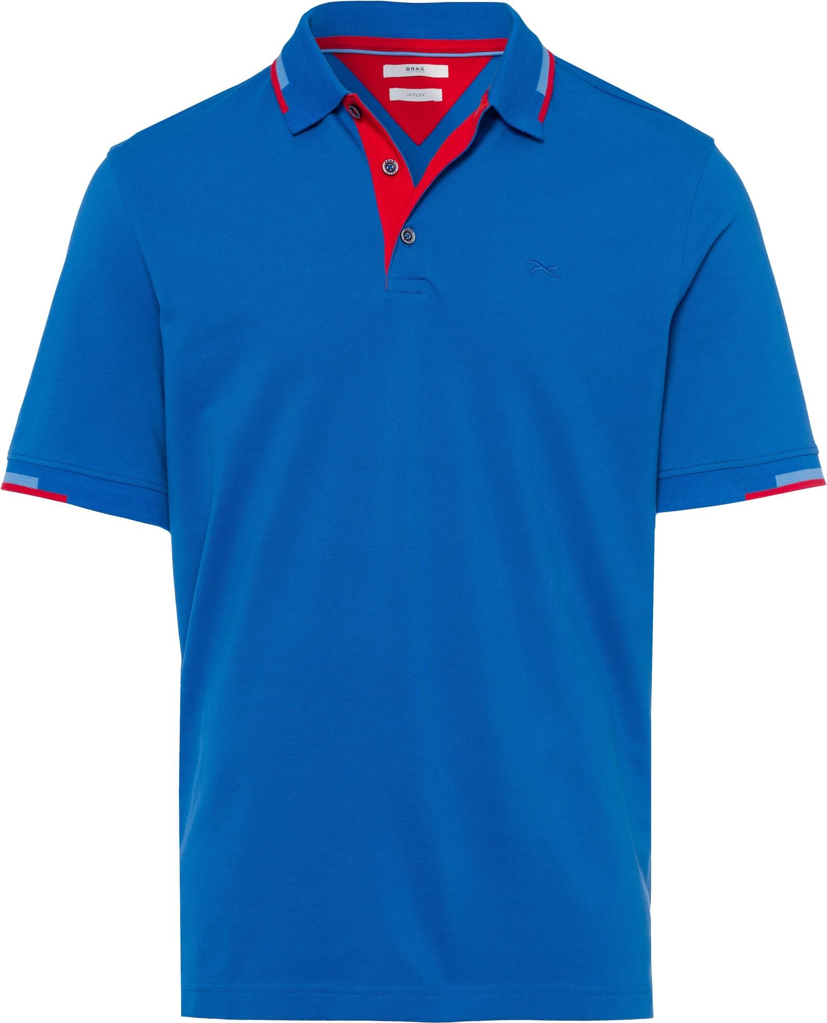 BRAX Marškinėliai mėlyna / raudona