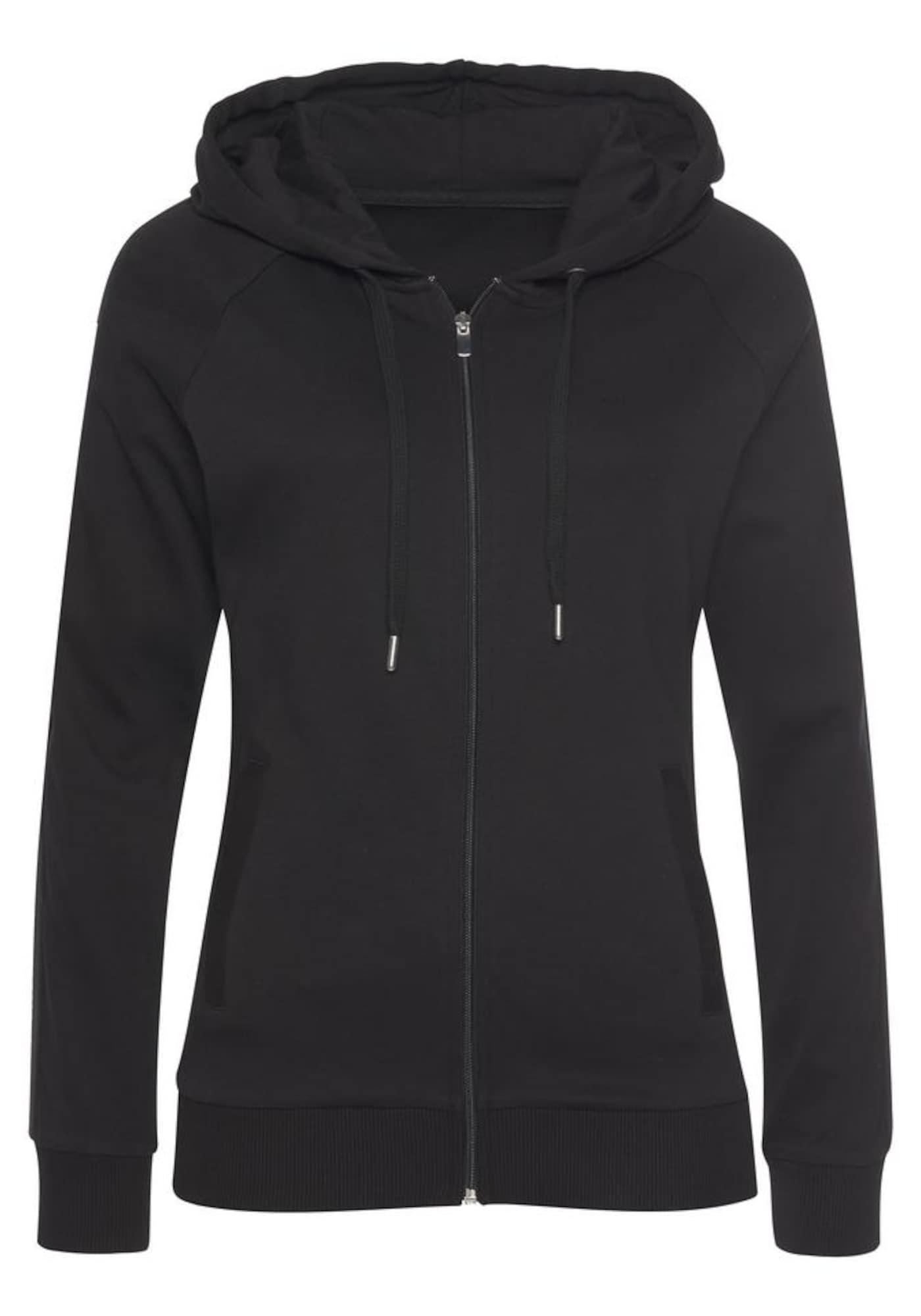 LASCANA ACTIVE Sportinis džemperis juoda