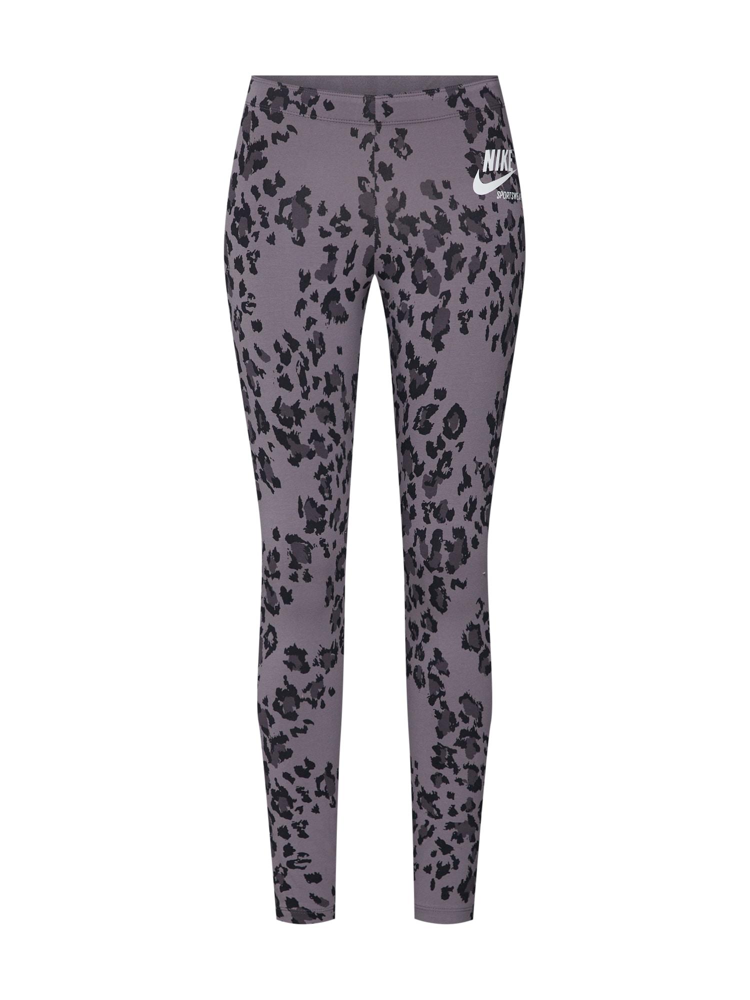 Nike Sportswear Tamprės tamsiai pilka / juoda