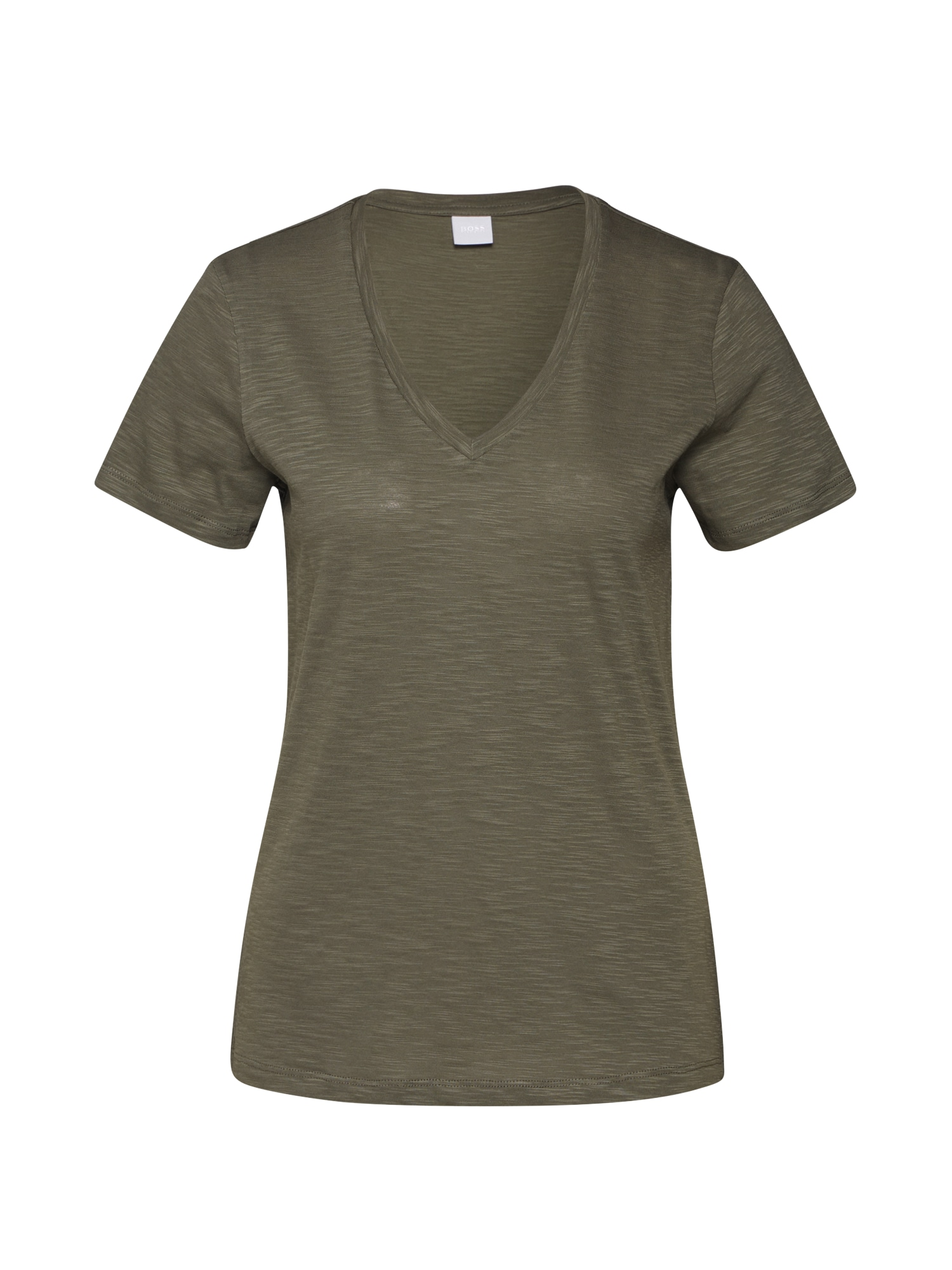 BOSS Marškinėliai žalia