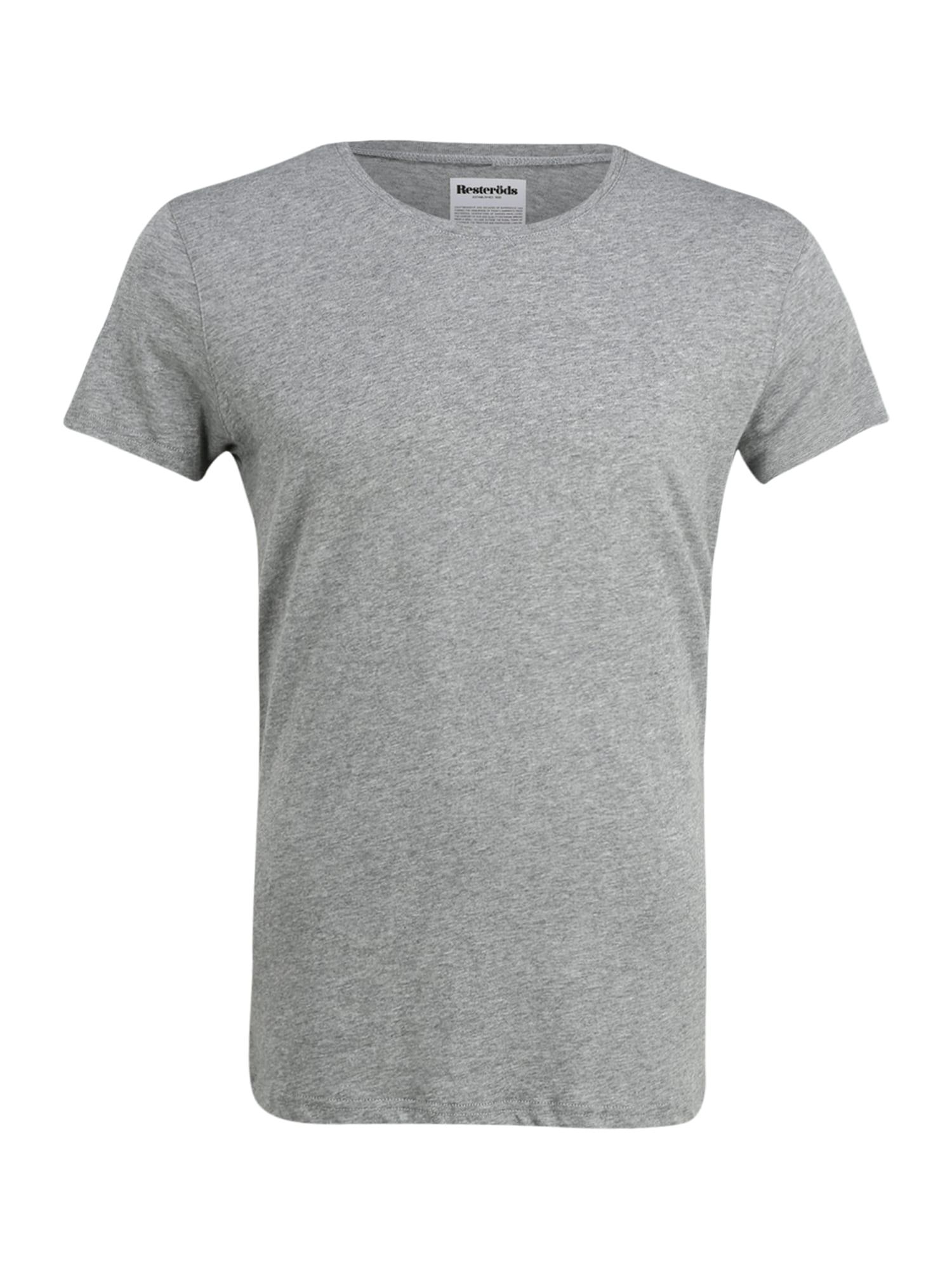 Resteröds Apatiniai marškinėliai margai pilka