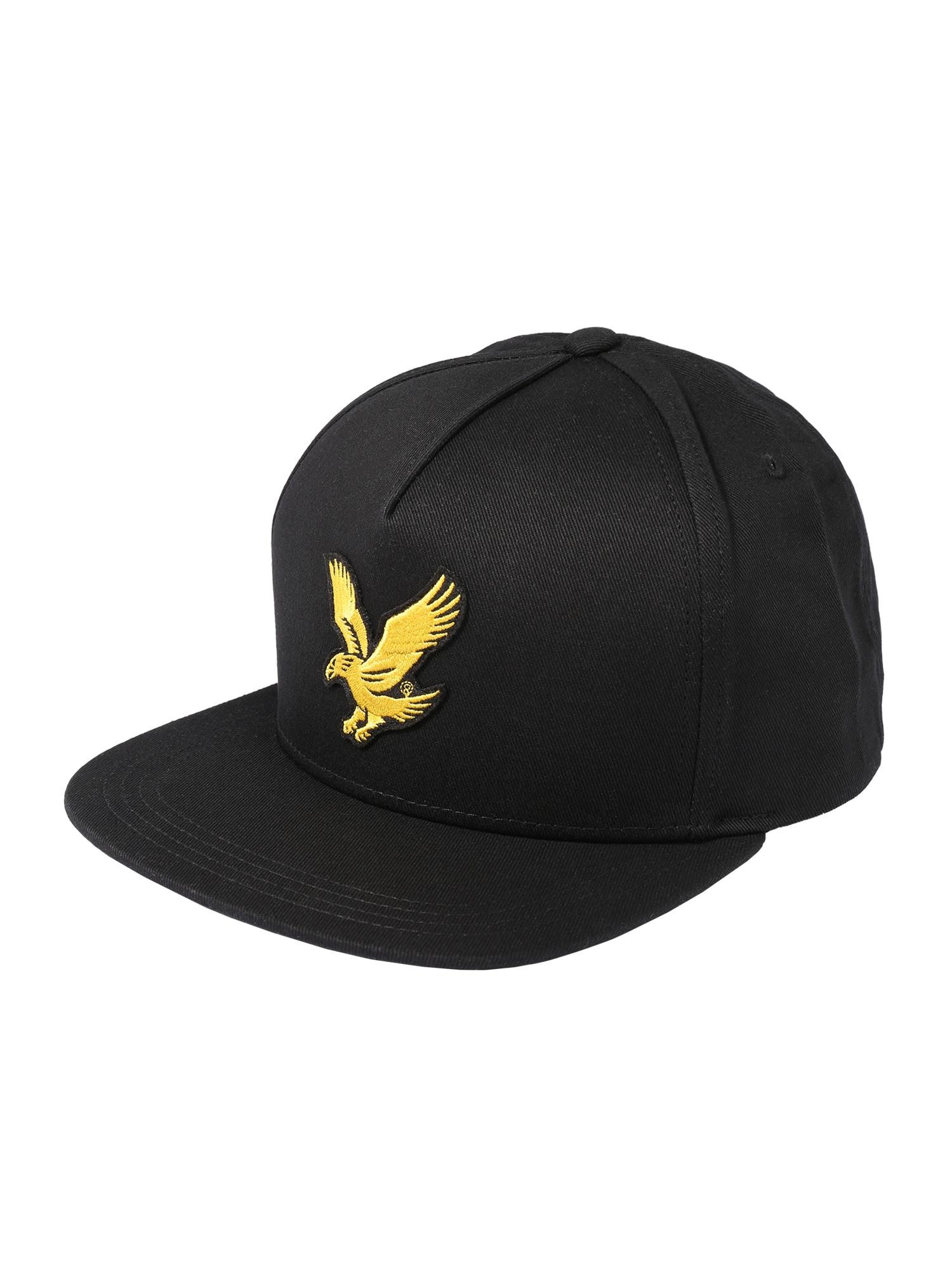 Lyle & Scott Čiapka 'Eagle'  čierna / žlté