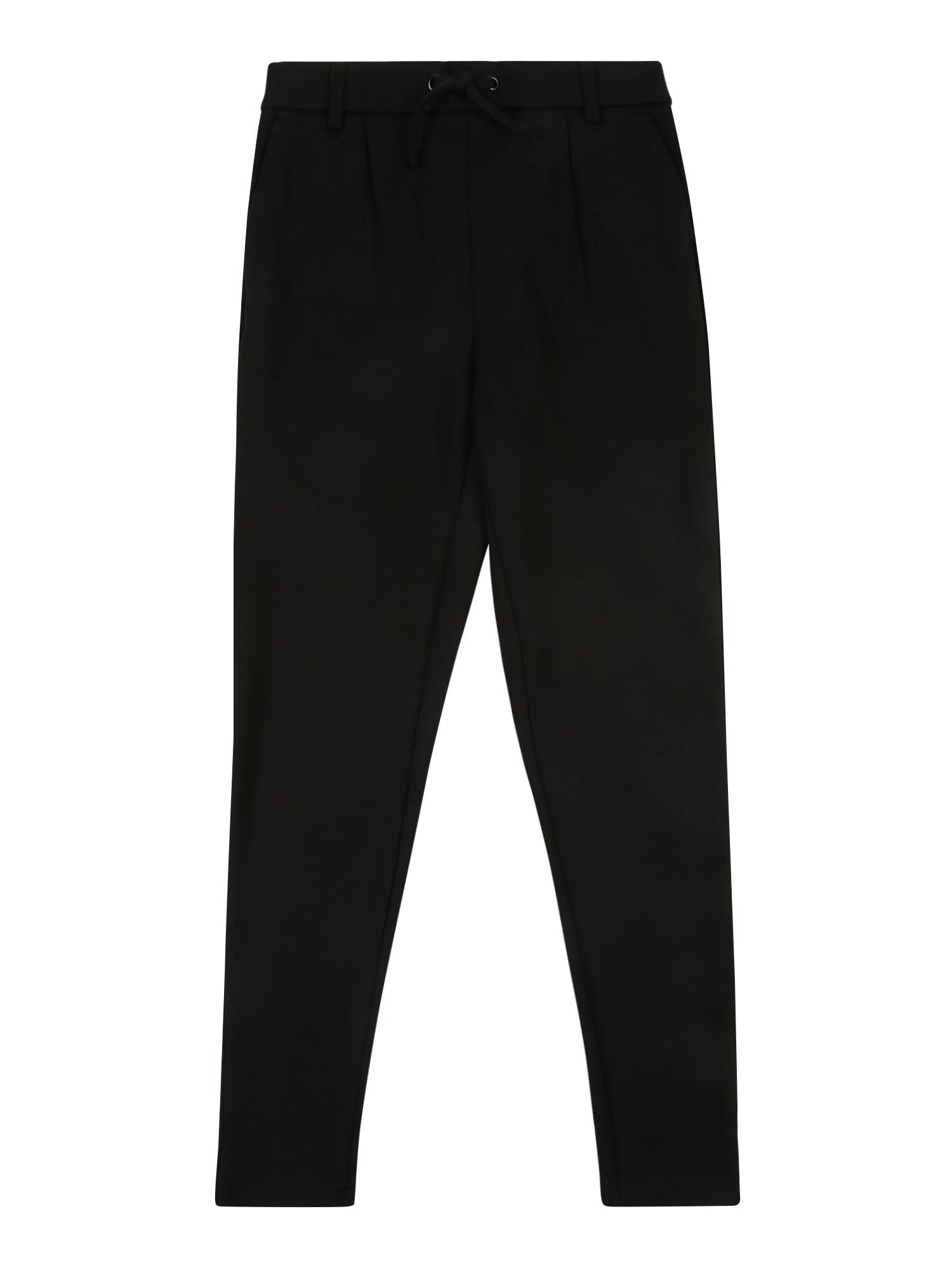 KIDS ONLY Kelnės 'POPTRASH EASY PANT' juoda