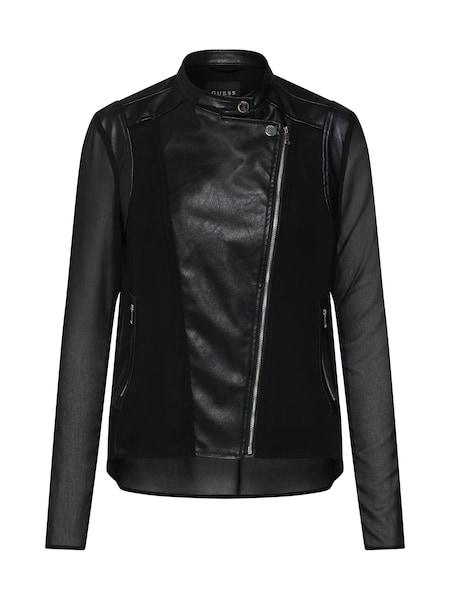 Jacken für Frauen - GUESS Jacke 'Loretta' schwarz  - Onlineshop ABOUT YOU