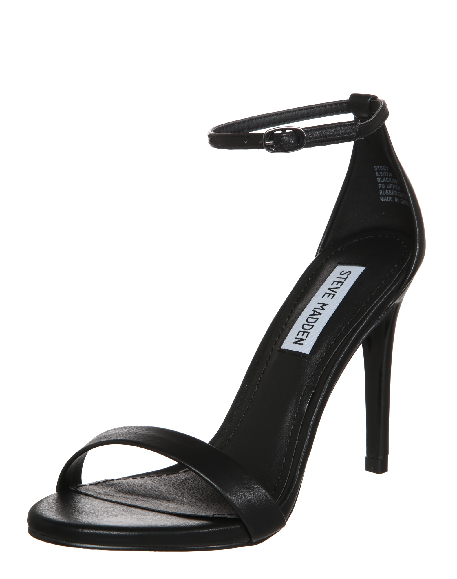 Páskové sandály Stecy černá STEVE MADDEN