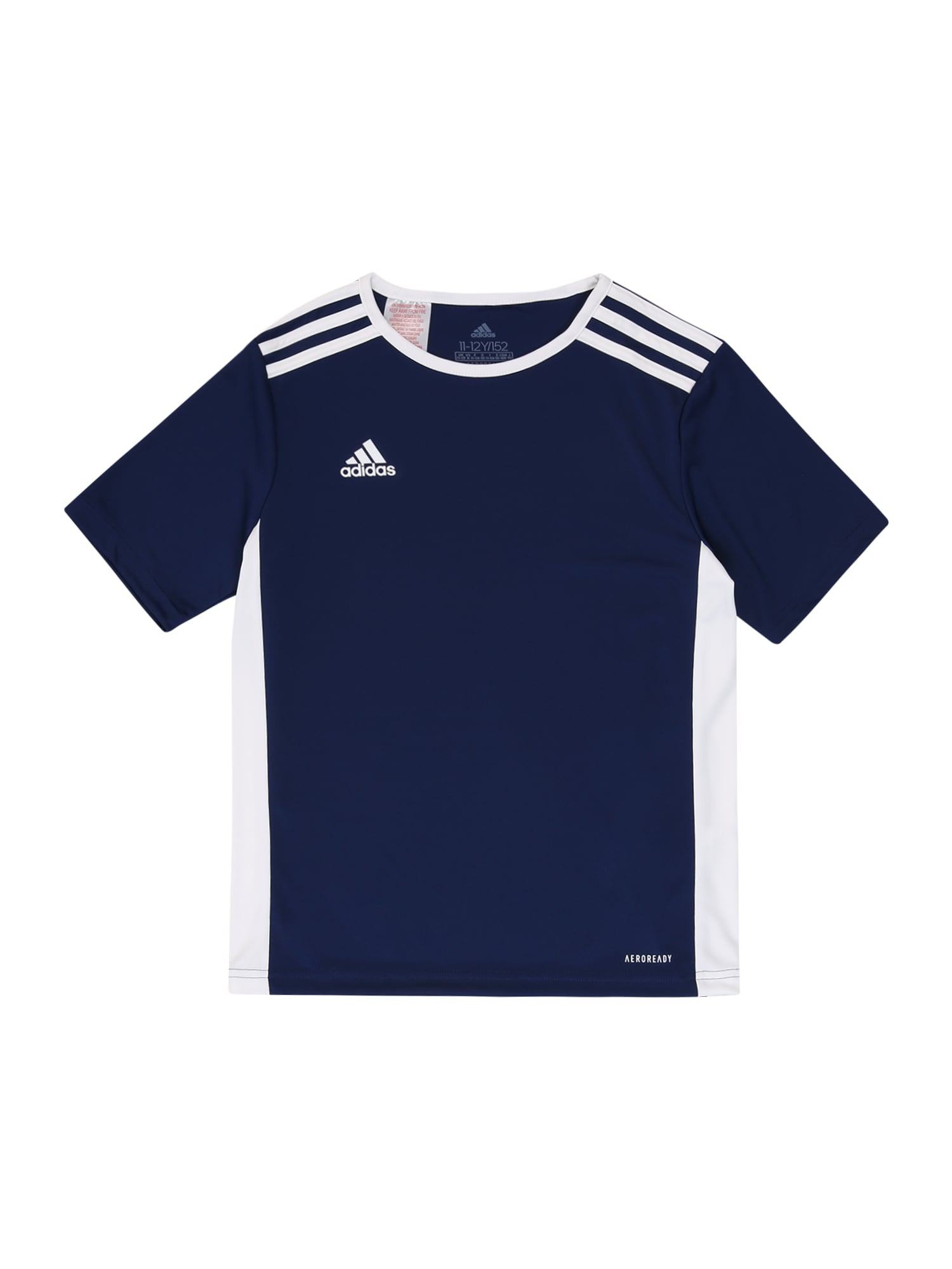 ADIDAS PERFORMANCE Funkční tričko 'Entrada'  tmavě modrá / bílá