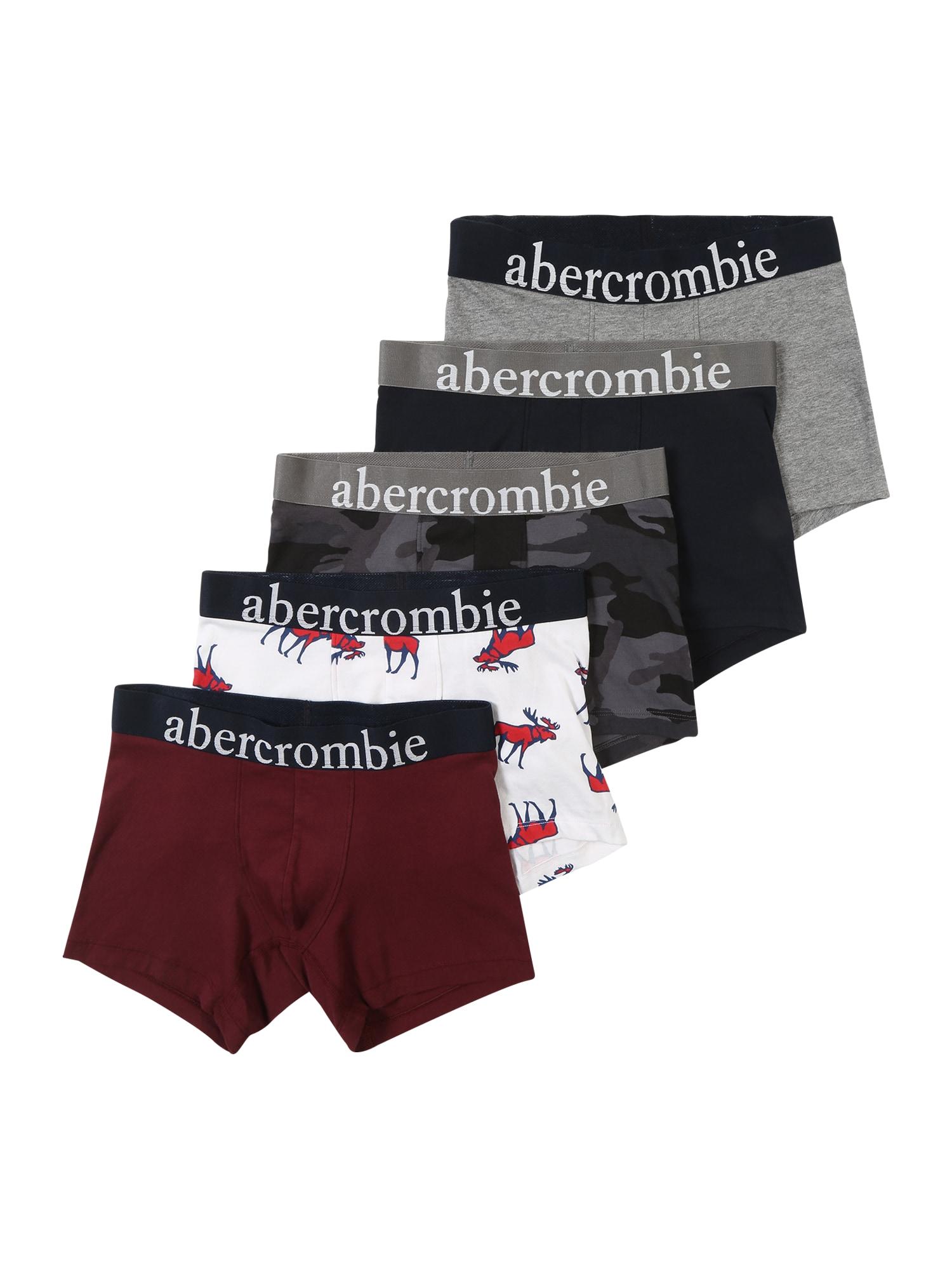 Spodní prádlo mix barev černá Abercrombie & Fitch