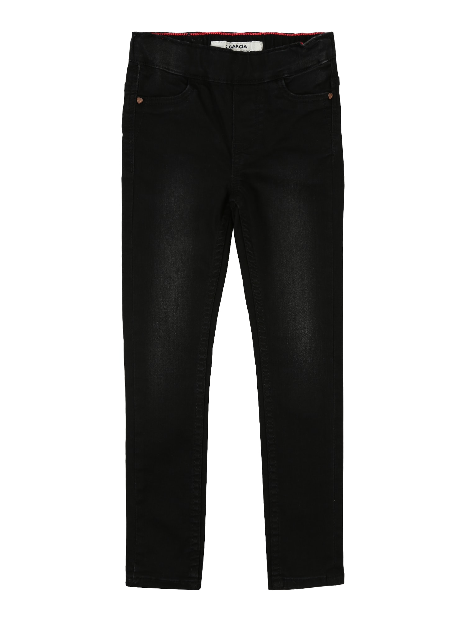 GARCIA Džinsai juodo džinso spalva