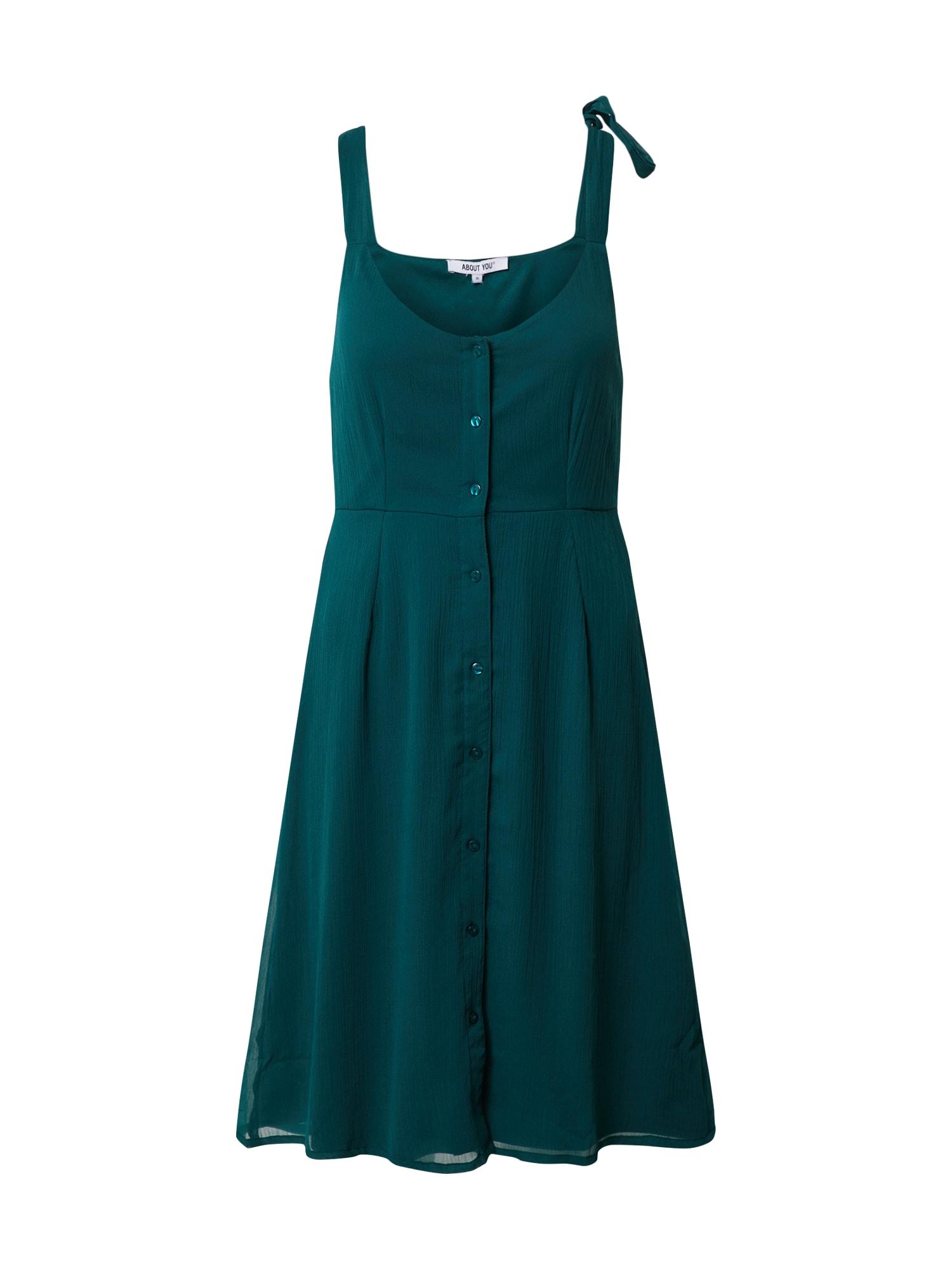ABOUT YOU Suknelė 'Arabella' smaragdinė spalva