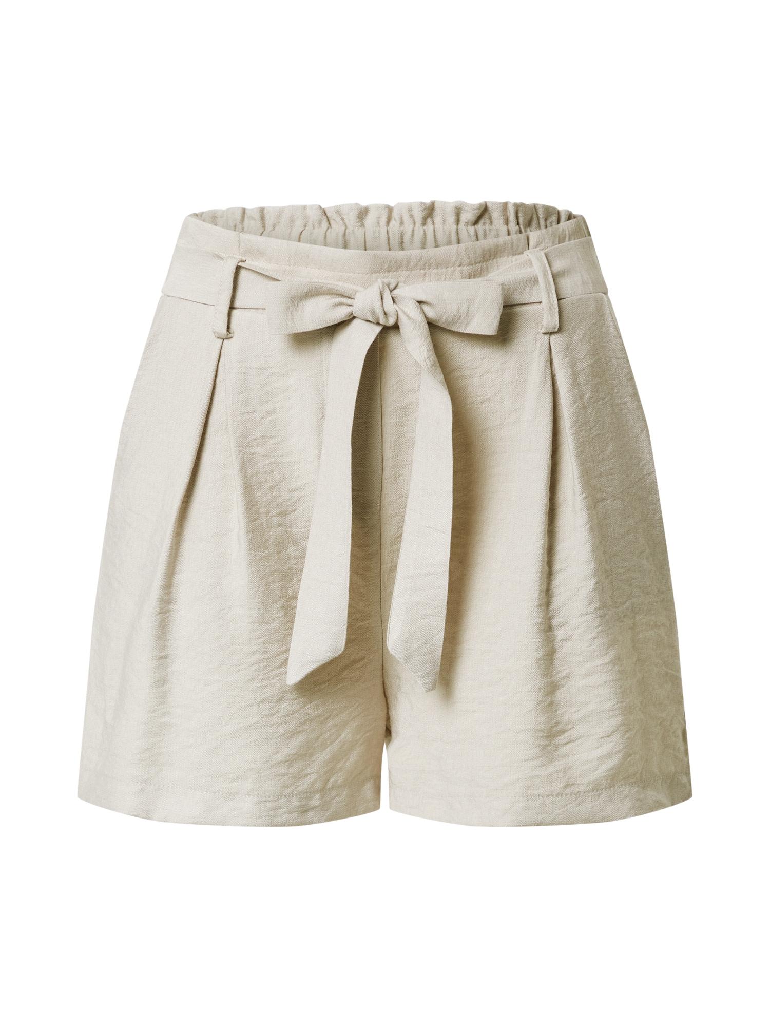 SISTERS POINT Plisované nohavice 'MENA'  béžová