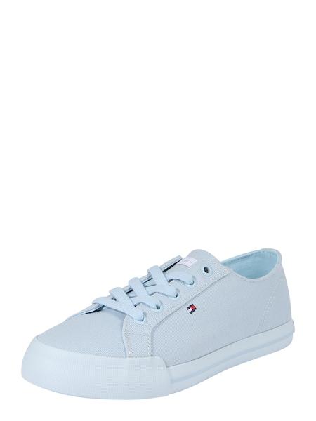 Sneakers für Frauen - Sneaker › Tommy Hilfiger › hellblau rot weiß  - Onlineshop ABOUT YOU