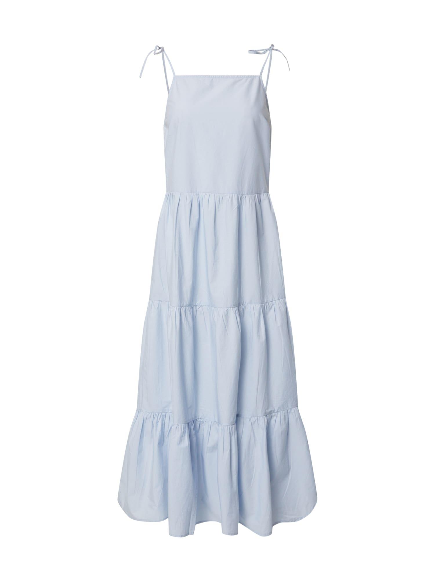 PIECES Letné šaty 'PCMARTHA'  svetlomodrá