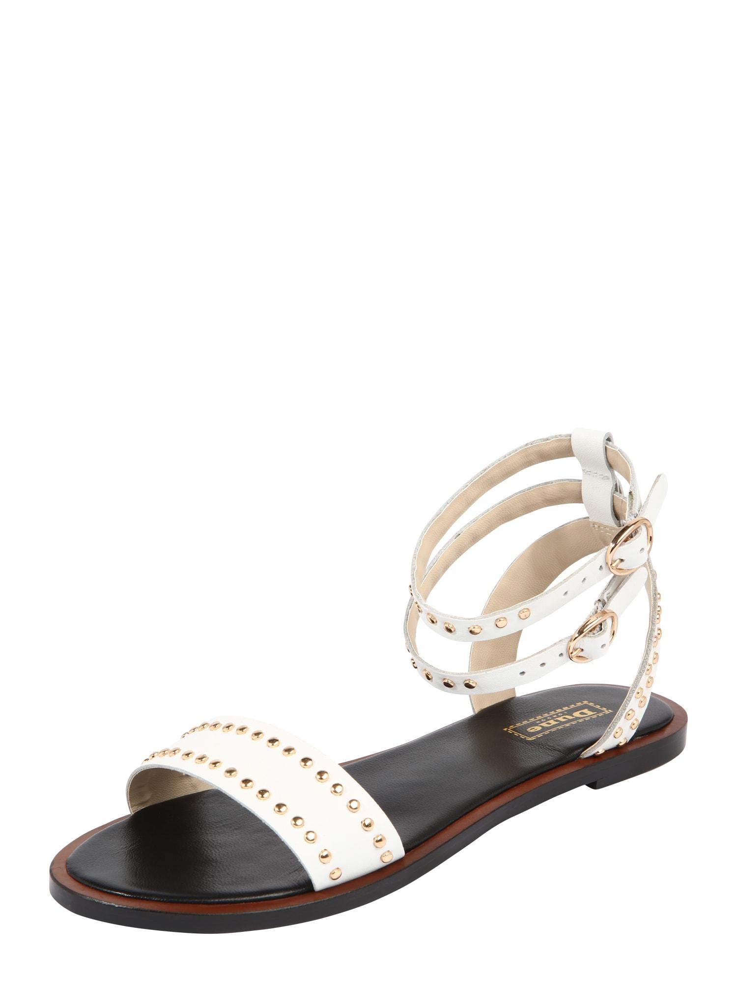 Páskové sandály LAGOMA bílá Dune LONDON