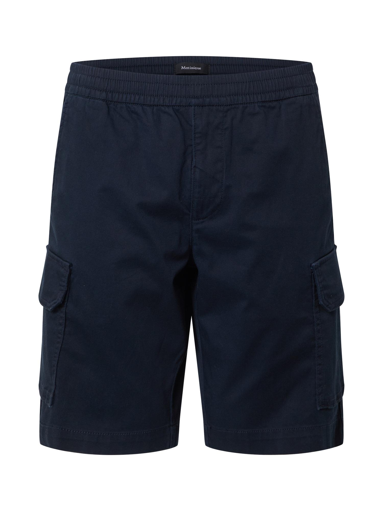 Matinique Laisvo stiliaus kelnės tamsiai mėlyna