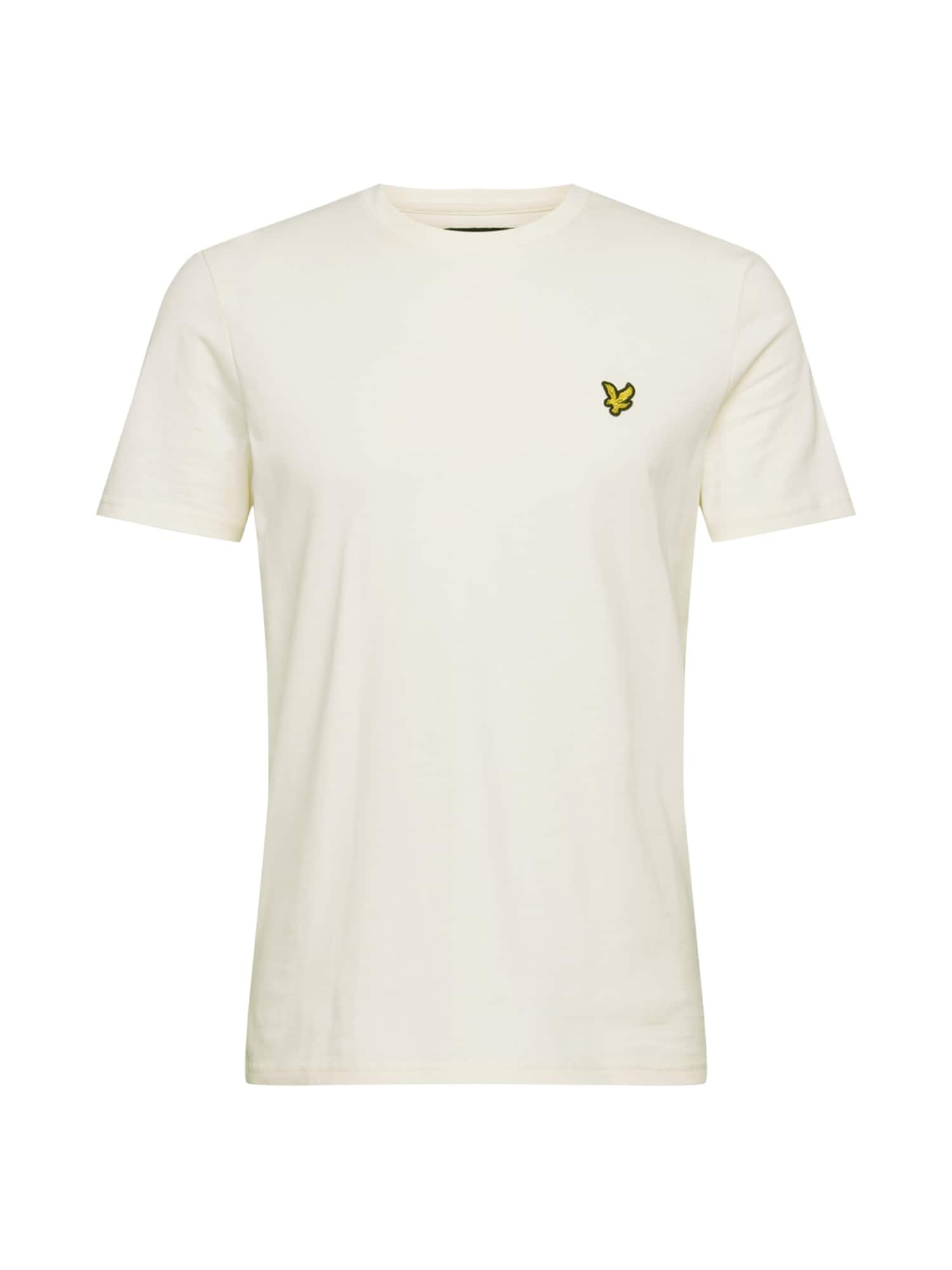 Lyle & Scott Marškinėliai kremo / geltona