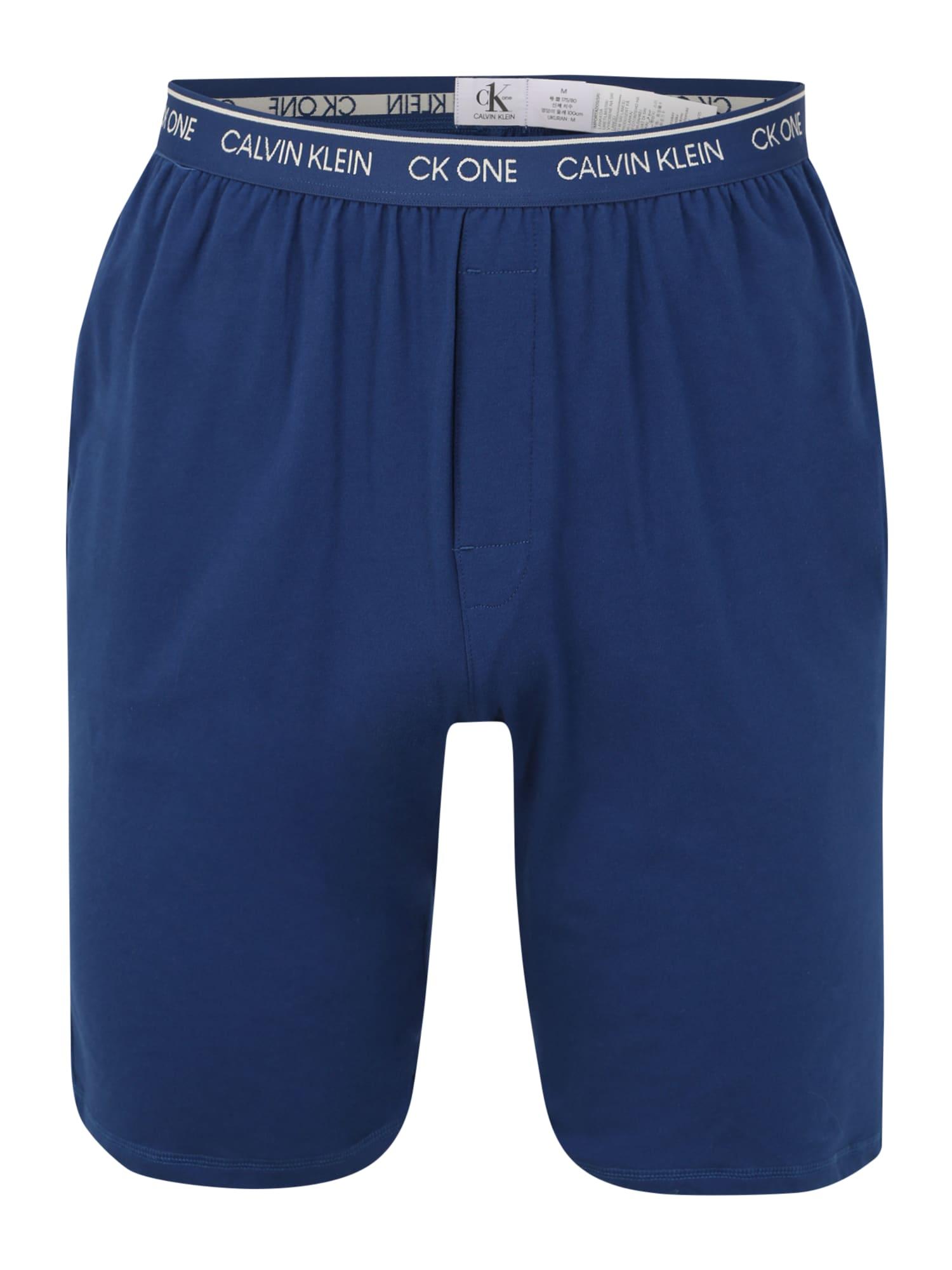 Calvin Klein Underwear Pižaminės kelnės 'SLEEP SHORT' mėlyna