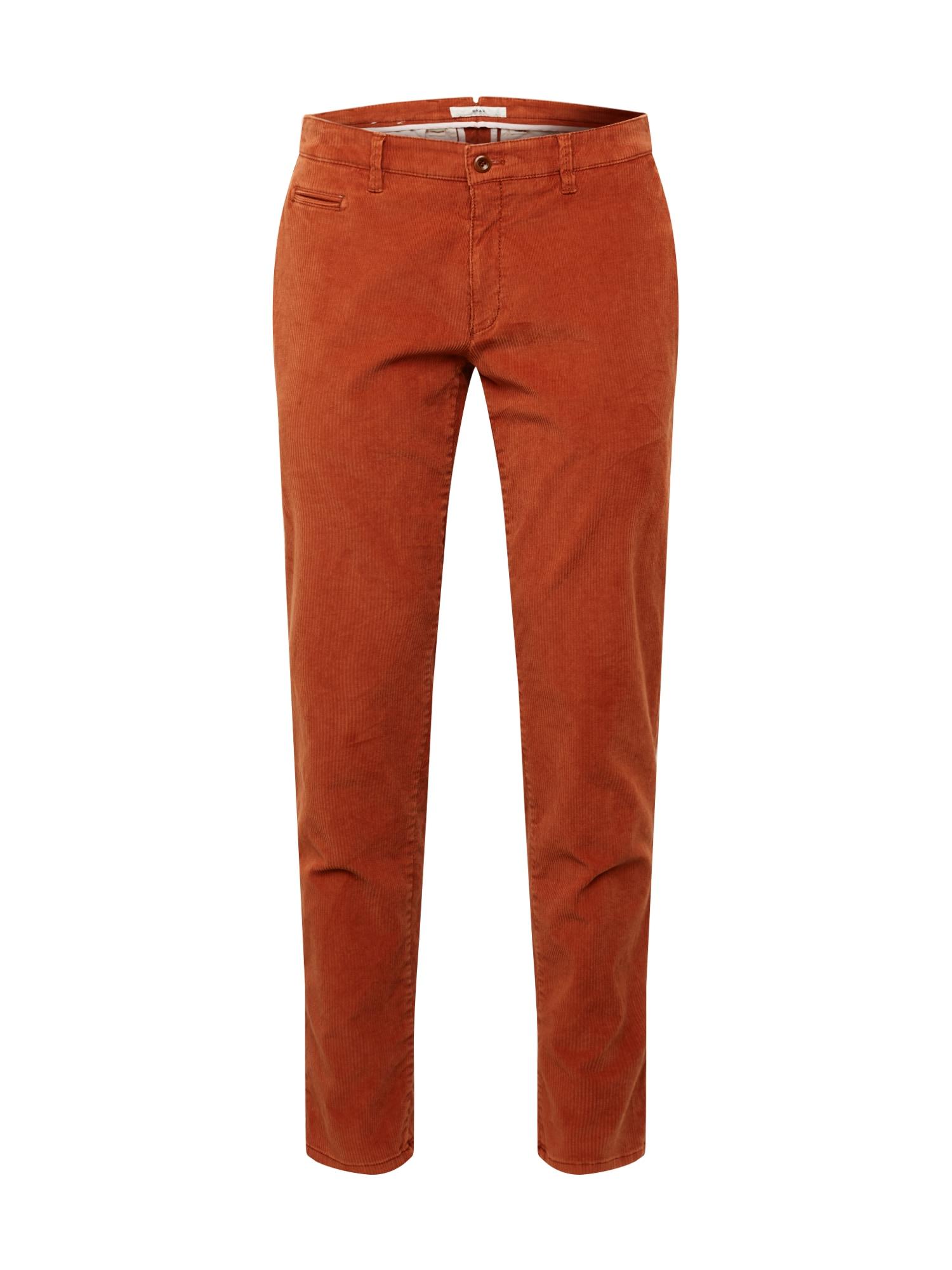 BRAX Kelnės 'Fabio' oranžinė-raudona