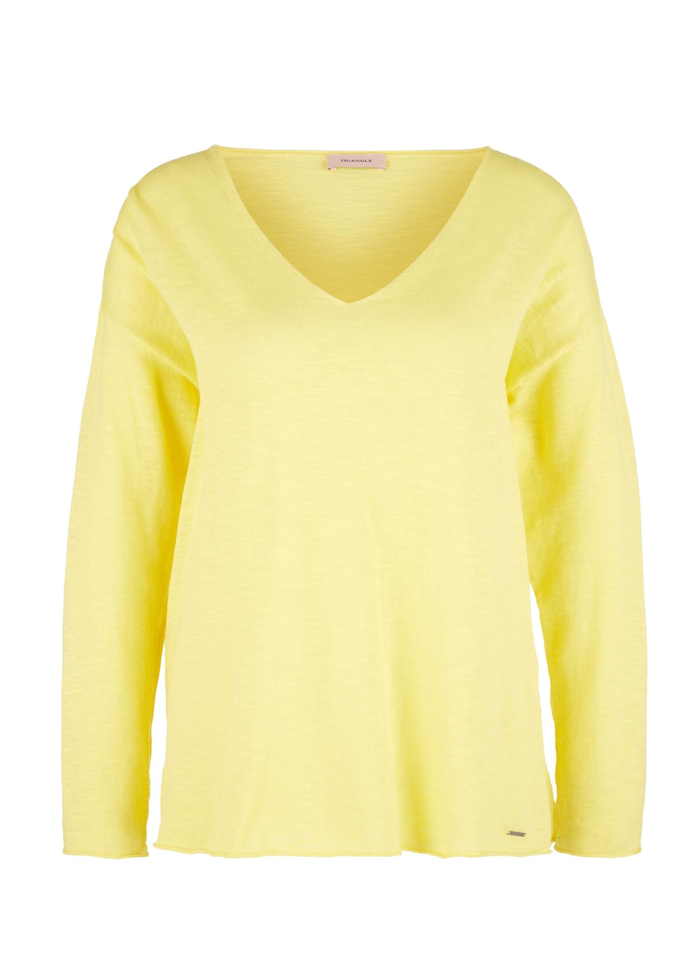 TRIANGLE Megztinis geltona
