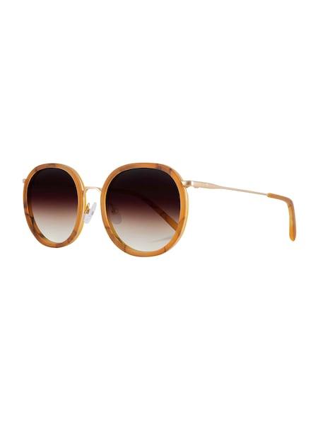Sonnenbrillen für Frauen - Kerbholz Sonnenbrillen 'Jakob' braun orange  - Onlineshop ABOUT YOU