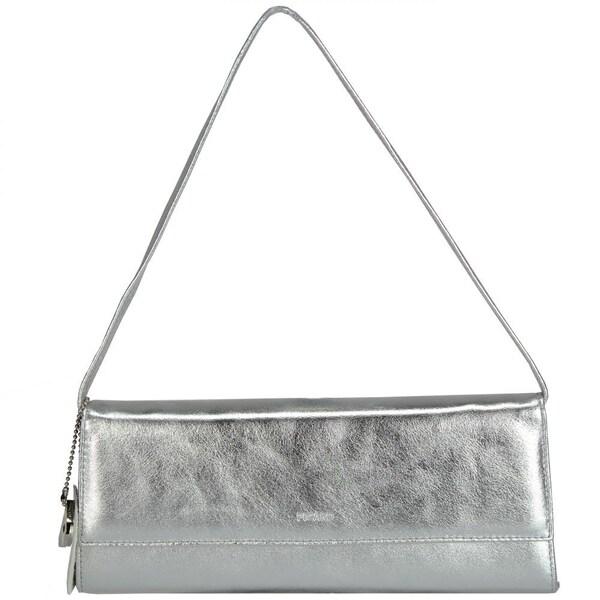 Clutches für Frauen - Picard Auguri Damentasche Leder 26 cm silber  - Onlineshop ABOUT YOU