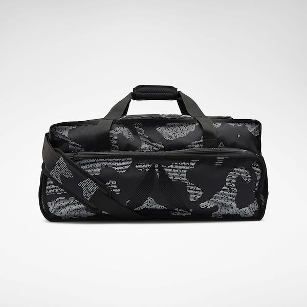 Sporttaschen für Frauen - REEBOK Sporttasche 'Training Grip Duffel' dunkelgrau schwarz  - Onlineshop ABOUT YOU