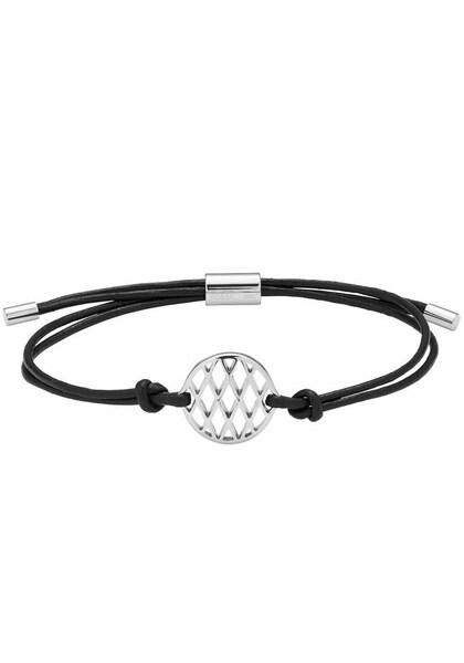 Armbaender für Frauen - FOSSIL Armband 'VINTAGE ICONIC, JF02725040' schwarz silber  - Onlineshop ABOUT YOU